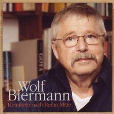 WOLF BIERMANN - HEIMKEHR NACH BERLIN MITTE  CD NEU