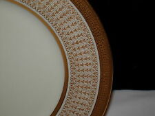 "Lenox 1830 / M91 Wide Gold Encrusted Dinner Plate 10 3/8""d  Scrolls Columns 1915"