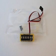 Voltcheck, Voltage Monitor of Receiver Battery