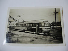 USA313 - ATLANTIC CITY SHORE LINES - TROLLEY No219 PHOTO New Jersey USA