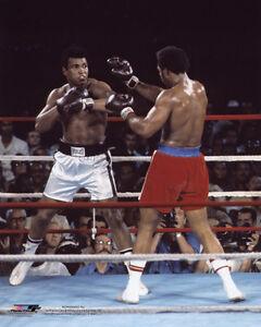 1974 MUHAMMAD ALI vs GEORGE FOREMAN Glossy 8x10 Photo Rumble in the Jungle Print