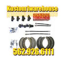 New Brake kit for 1968 VW Volkswagen Bug TRW master cylinder German brake hoses