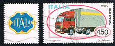 ITALIA 1 FRANCOBOLLO MACCHINA AUTOTRENO IVECO AUTO APP. 1984 usato
