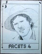 """Indiana Jones Star Wars Fanzine """"Facets 4, 5, 6, 7/8, 9/10, 11"""" Gen"""