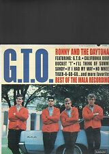 RONNY AND THE DAYTONAS - best of the mala recordings LP