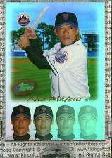 KAZ MATSUI USA ROOKIE CARD 2004 eTopps #42 New York Mets IN HAND Japan