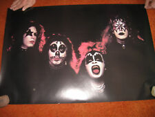 2 different KISS POSTERS > REALLY NICE !!!   EARLY