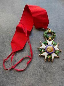 Médaille Légion D'honneur Commandeur Vermeil (1946-1958) IV République