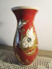 Sehr dekorative Porzellan Vase Oscar Schlegelmilch herrliches Golddekor (E364)