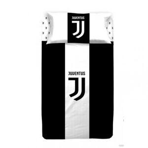 Completo lenzuola F.C. Juventus Juve Ufficiale per letto Singolo una piazza R497