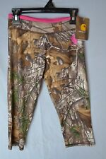 Carhartt Real Tree Camo Girl's Capris CK9404 Babies/Infants 24mos NWT