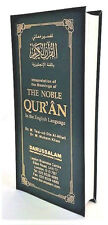 The Noble Quran in the English Language - (Long Size - Black)