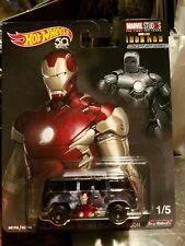 HOT WHEELS POP CULTURE MARVEL IRON MAN VW DELUXE CONCEPT ART SERIES NEW