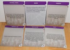 HERO CLIX - BATTLEFIELD CONDITIONS - CARD LOT  OF 15 - DIFFERENT SERIES - DC