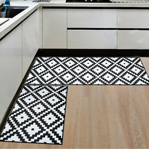 Indoor Door Mat Kitchen Floor Rug Bedroom Room Carpet Hallway Runner Non Slip