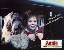 12 Photos Cinéma 21x27cm + Synopsis (1982) ANNIE Aileen Quinn, Finney NEUVE
