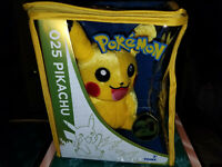 Pokemon 20th Anniversary Sitting And Waving Pikachu Plush