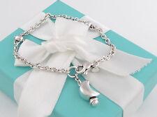Tiffany & Co Silver Moon Dangle Dangling Bracelet