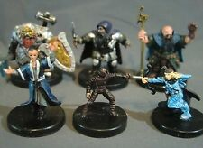 Dungeons & Dragons Miniatures Lot -  Dwarf & Halfling Characters !!  s70