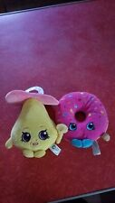Shopkins Plush Lot of 2