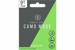 Wychwood Camo Mode Tapered Leaders / Fly Fishing