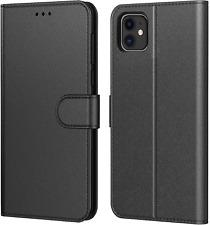 "Coque iPhone 12 Mini 5.4"", Pochette Protection Etui Housse Premium En Cuir PU"