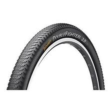 """Continental Double Fighter III (26"""" x 1.90"""") Tyre for Bike - Black"""