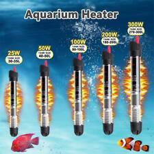 More details for 25w-300w aquarium submersible heater fish tortoise tank water auto