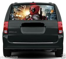 Sale Deadpool Funny Rear Car Window Vehicle Graphic Sticker/Decal 167cmx55cm