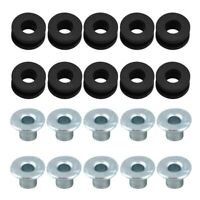 10pcs Motorcycle Rubber Grommets For  For Yamaha For Suzuki For  Fais C5M2