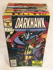 Lot of 41 Darkhawk Comics #1-48 + Annual 1 2 Marvel 1st Prints 1991-1995
