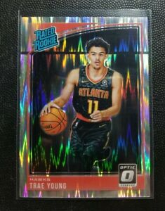 2018-19 Trae Young Rookie Optic Shock Holo Prizm Rated RC Line Error!