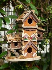 HOME GARDEN DECOR GINGERBREAD STYLE BIRD HOUSE BIRDHOUSE WOOD - JACKSON MOUNTAIN