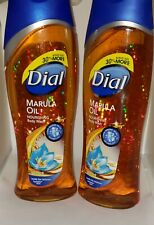 2-Pack Dial * Marula Oil * Nourishing Body Wash * Clean Rinsing Micro Oil 21oz