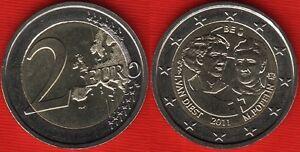 """Belgium 2 euro 2011 """"International Women's Day"""" BiMetallic UNC"""