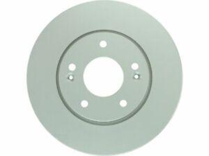 Front Bosch QuietCast Rotor Brake Rotor fits Kia Magentis 2006-2010 12JPMH