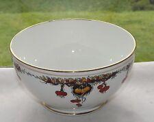 Vintage Taylor & Kent c1912 Porcelain Large Sugar Bowl Oranges and Lemons 5196