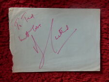 AUTHOR BARBARA CARTLAND AUTOGRAPH