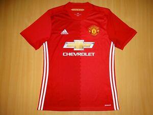 * MANCHESTER UNITED 2016 2017 Shirt ADIDAS Home M MEDIUM camisa camiseta soccer