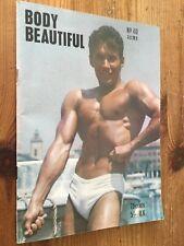 Rare Vintage Body Beautiful Magazine No 40 Beefcake Bodybuilding Gay Interest