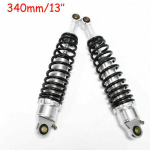 One Pair 340mm 13'' Motorcycle Scooter Rear Shock Absorber Suspension For Yamaha