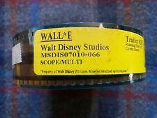 New Unsealed Wall-E Scope 35mm Trailer Disney Pixar Plus Bonus Kung Fu Panda