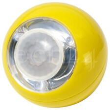 LED Nachtlicht Nachtlampe Schranklicht mit Bewegungsmelder ohne Bohren gelb
