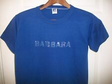 Vintage Barbara T Shirt S Barbie Barb Babs Russell Athletic Night Living Dead