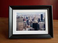 Skyscrapers of Manhattan framed photograph
