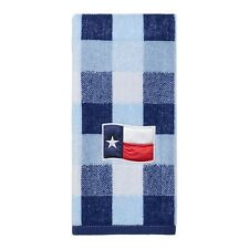 Americana Texas Flag Hand Towel for Bathroom or Kitchen Red White & Blue NEW