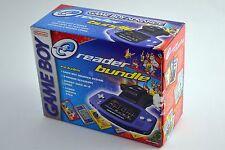 Nintendo Game Boy Advance eReader Indigo Purple Bundle BOX ONLY