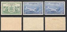 CANADA 1946 KGVI SPECIAL DELIVERY EXPRESS TRIO (HM/UHM) (SG S15/S17; CV £20)