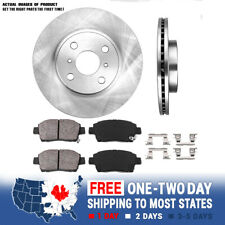 Front 255 mm Brake Disc Rotors And Ceramic Pads For 2004 2005 2006 Scion Xa Xb (Fits: Scion xB)