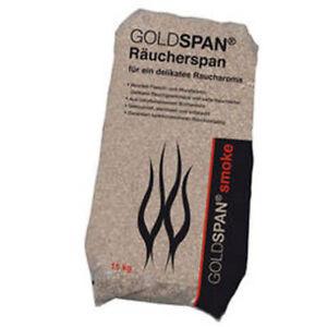 14 kg TRANSPORTSCHADEN Räucherspäne 1 - 2,5 mm räuchern Buche Goldspan